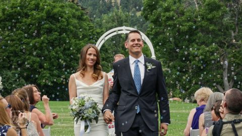 Chautauqua Green Boulder Wedding