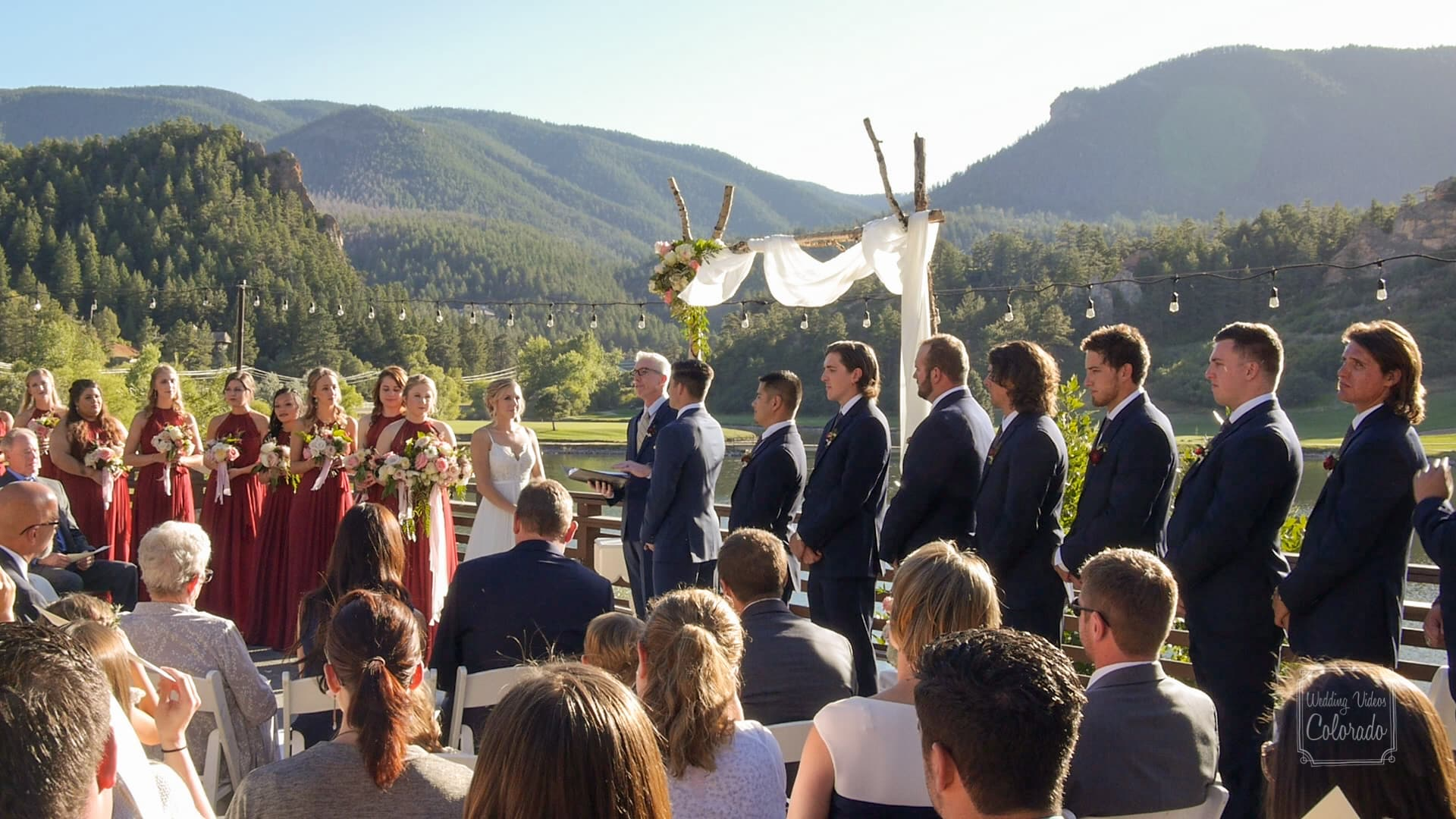 Perry Park Country Club Wedding