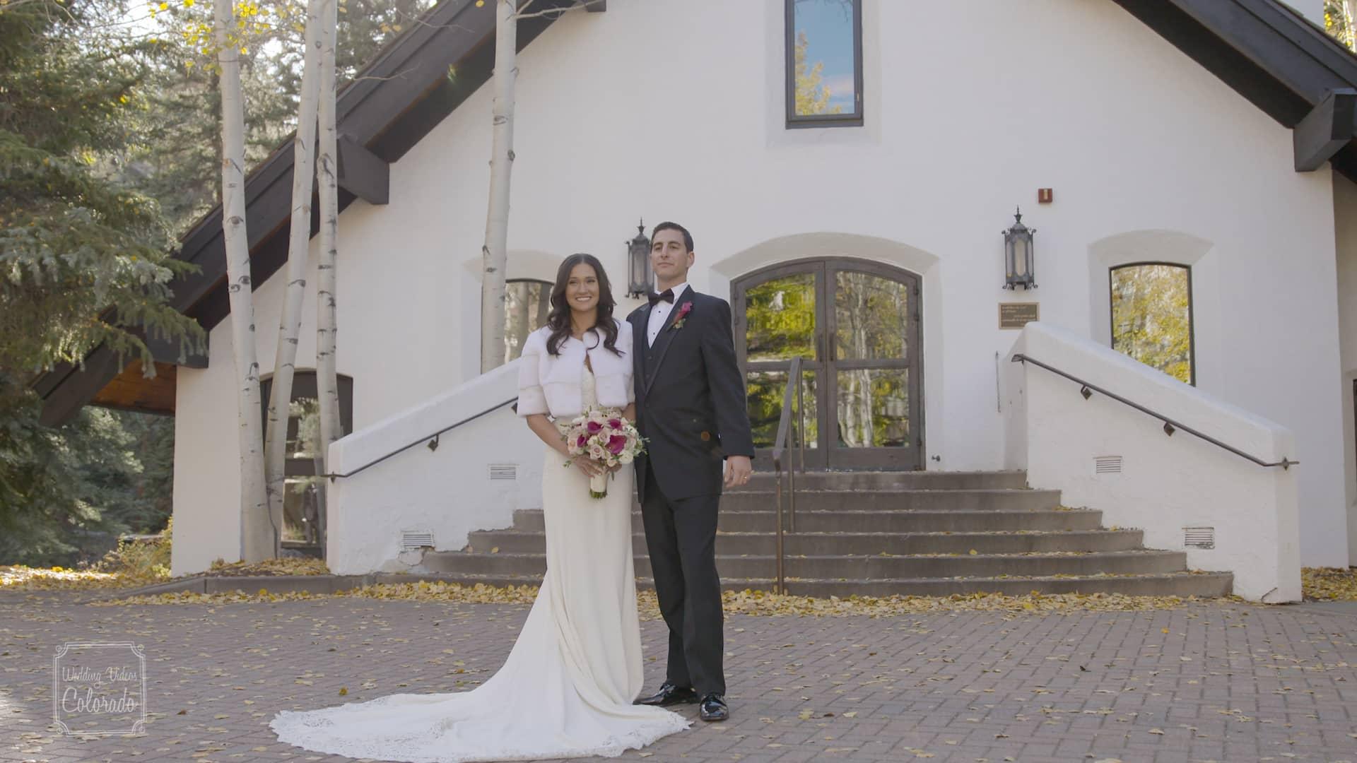 Alex Danielle Vail Wedding Chapel Sonnenalp