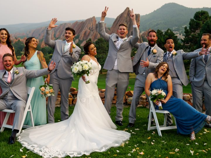 Aaron & Andrea's Wedding at Arrowhead Golf Course, Littleton, CO