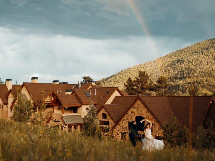 Brandon & Veronica's Wedding at Della Terra Mountain Chateau, Estes Park, CO