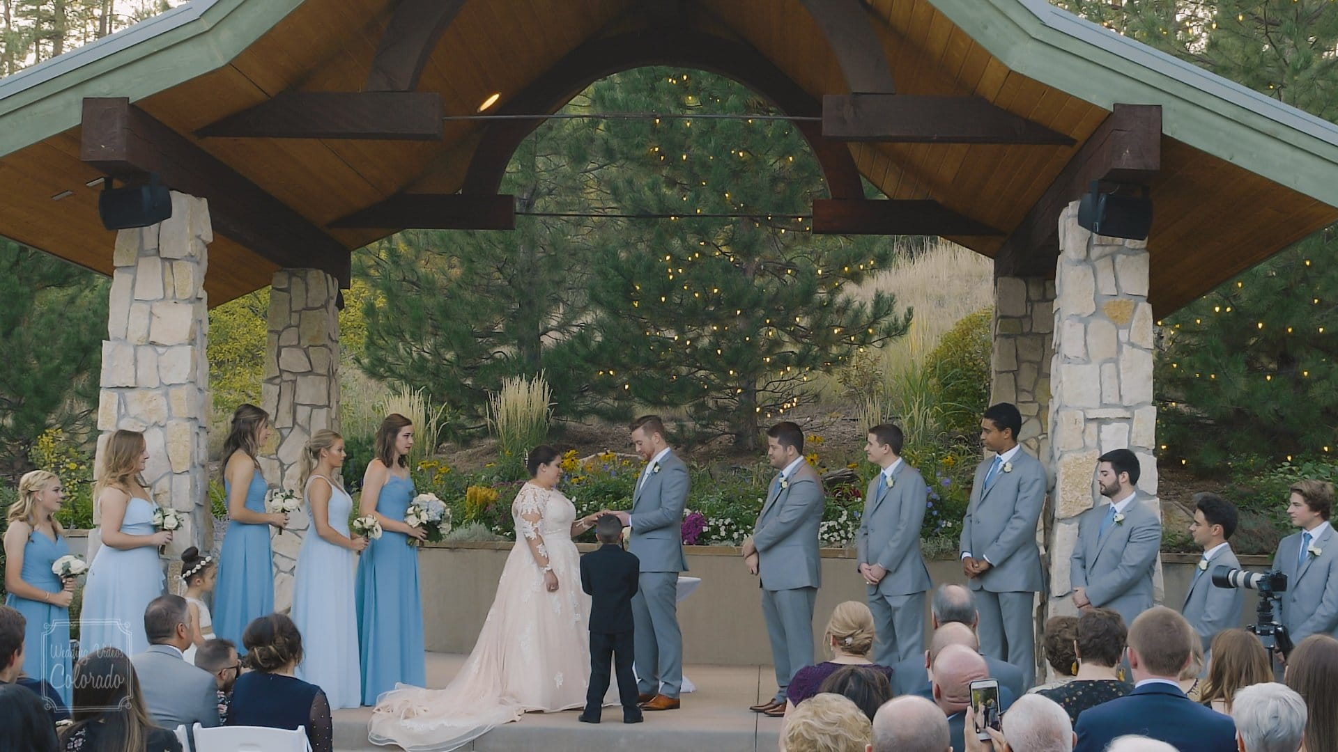 colin lauren the pines at genese wedding videography