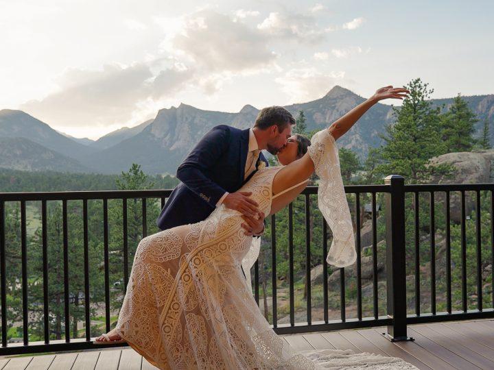 Eric & Grace's Wedding at Black Canyon Inn, Estes Park, CO