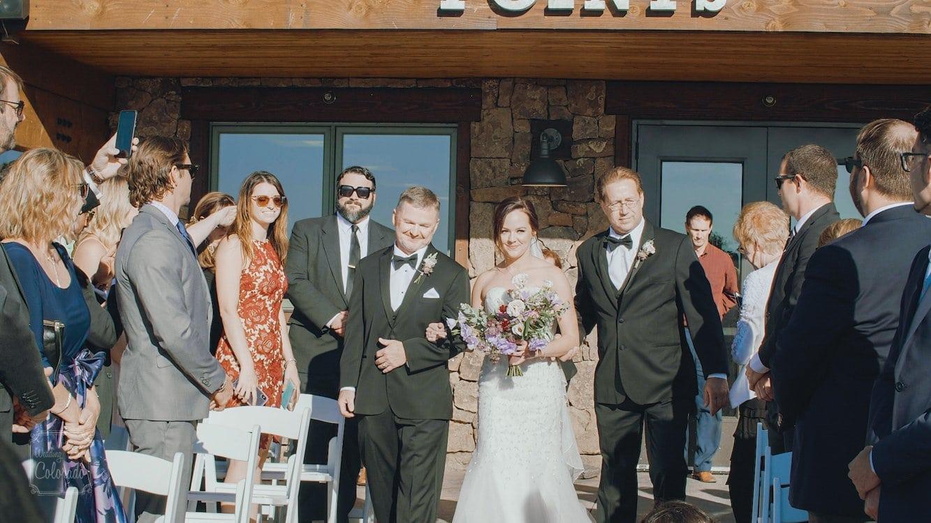 Greg Danielle Steamboat springs Wedding video