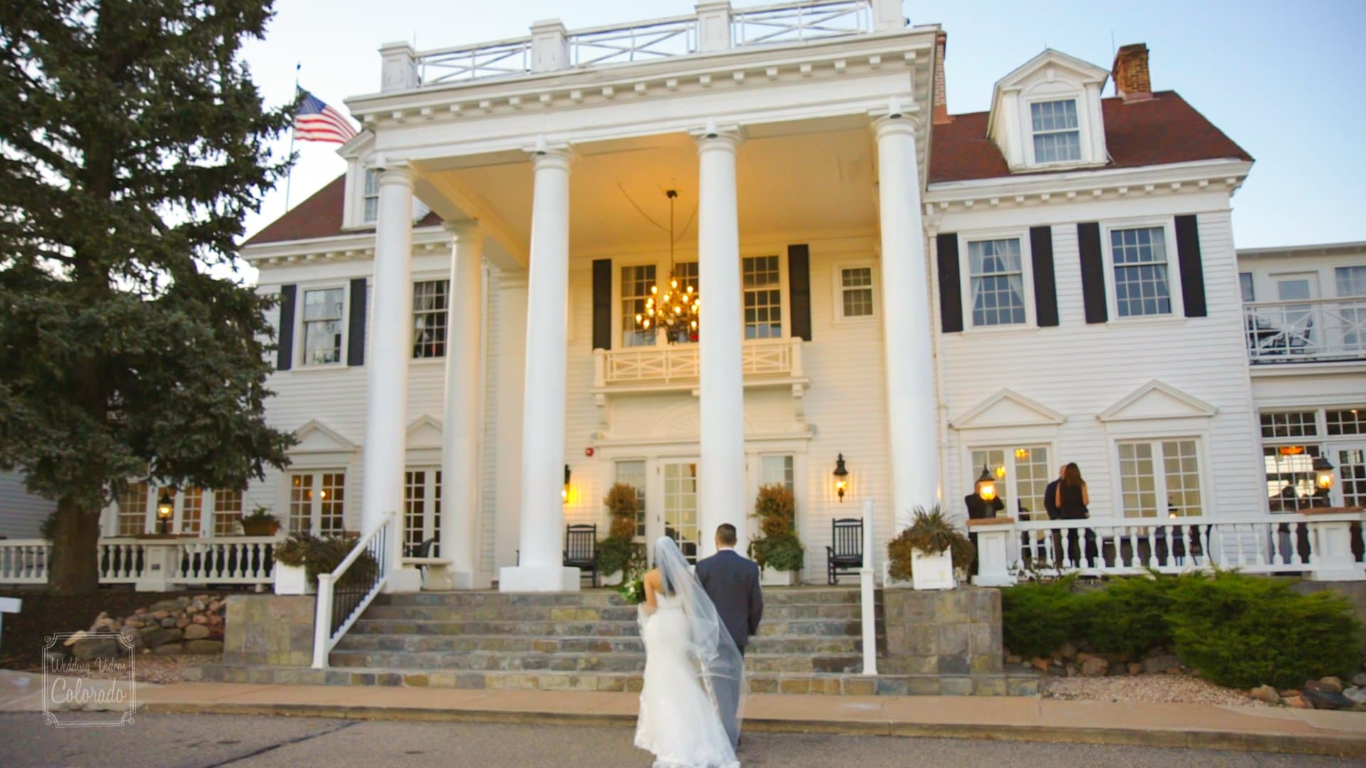 Marissa Daniel The Manor House Wedding Video Still