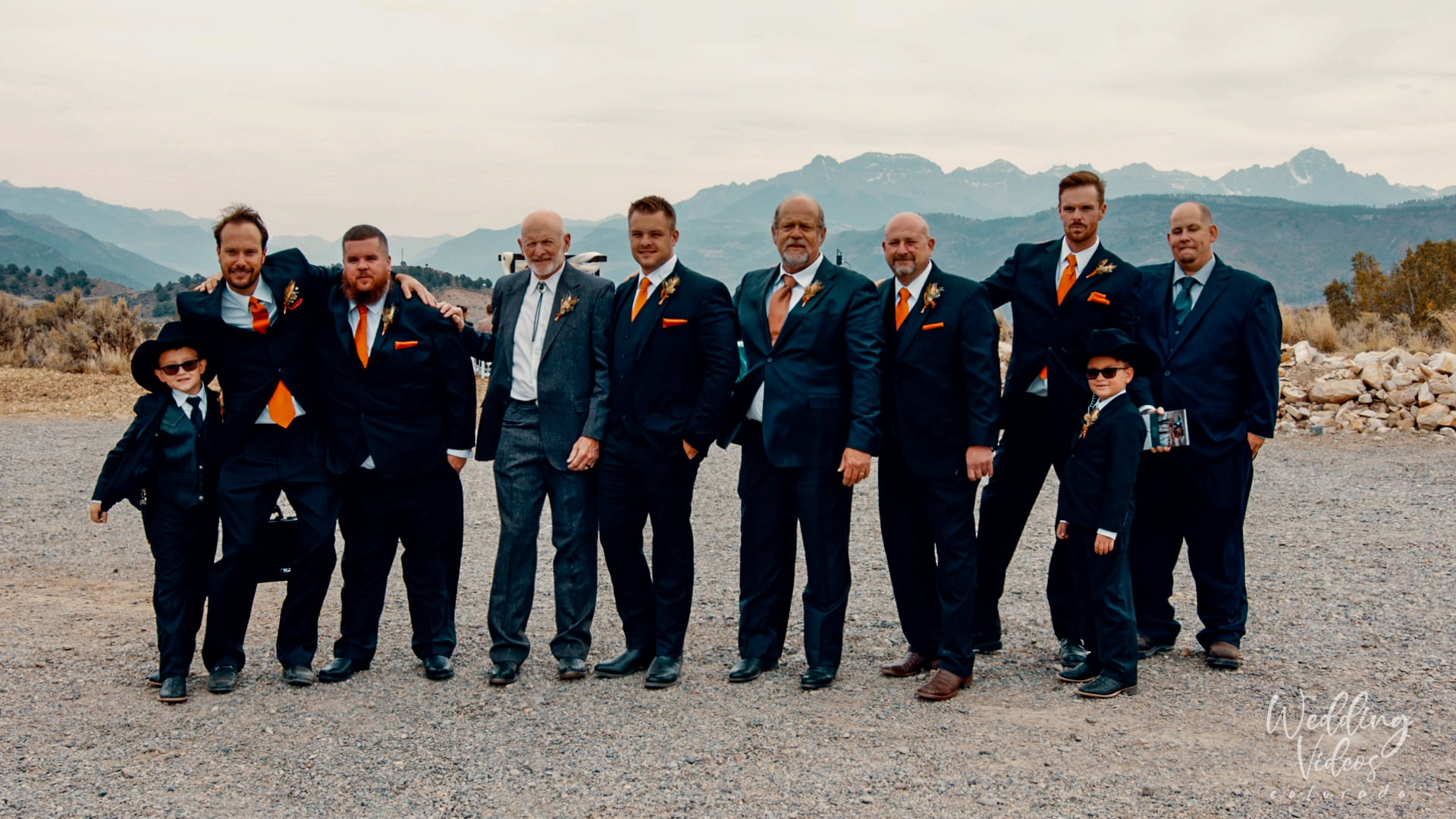 Matthew Celeste Wedding Ridgeway Colorado black canyon stables