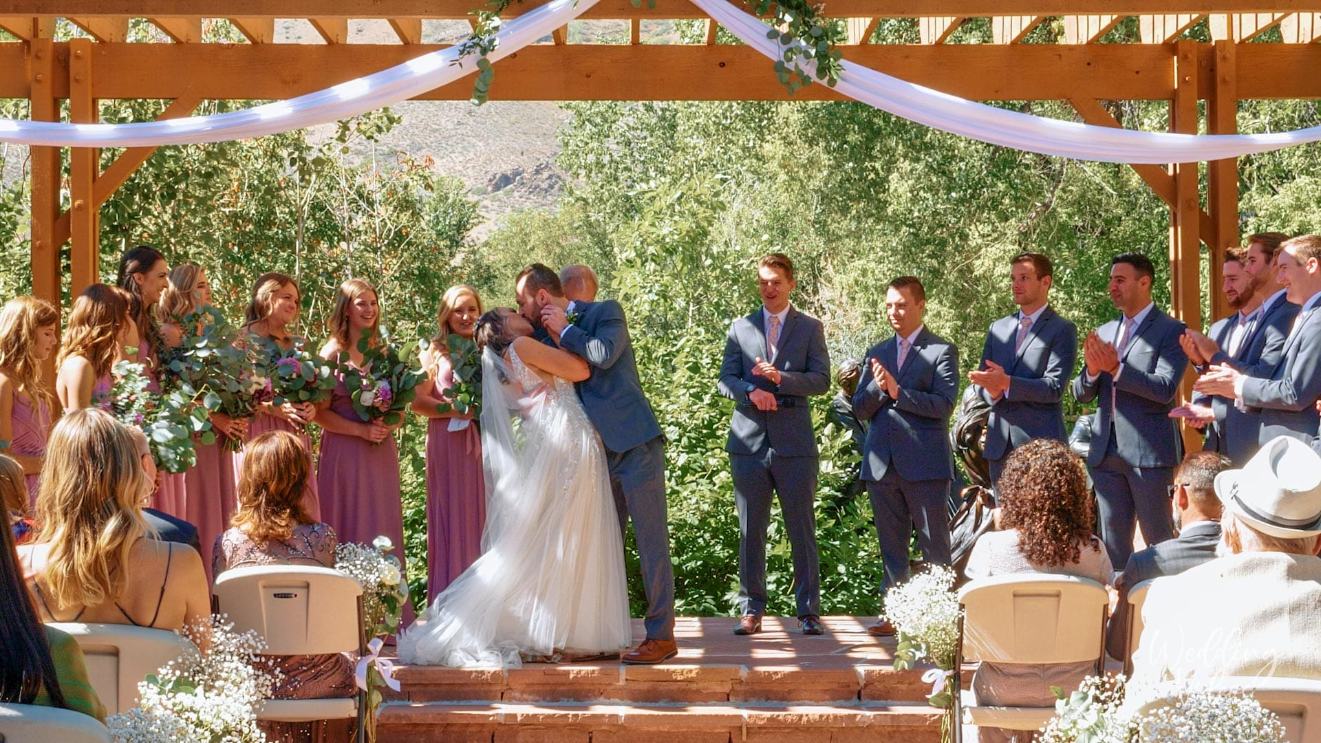 Megan Luke historic golden hotel colorado wedding video