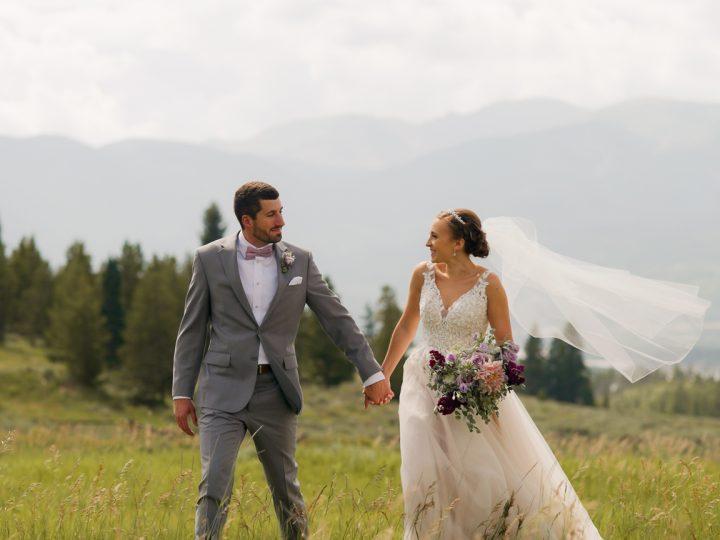 Nathan & Jen's Wedding at Black Mountain Lodge, A-Basin, CO