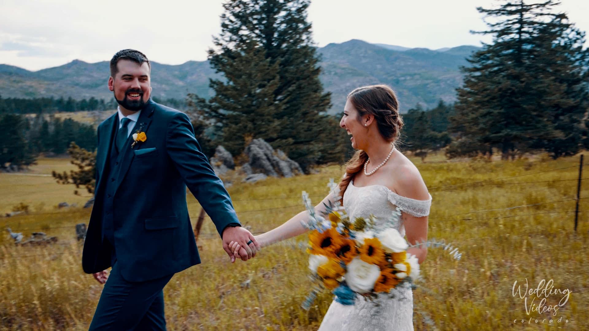 Rachel David Stove Praire Ranch bellvue Wedding
