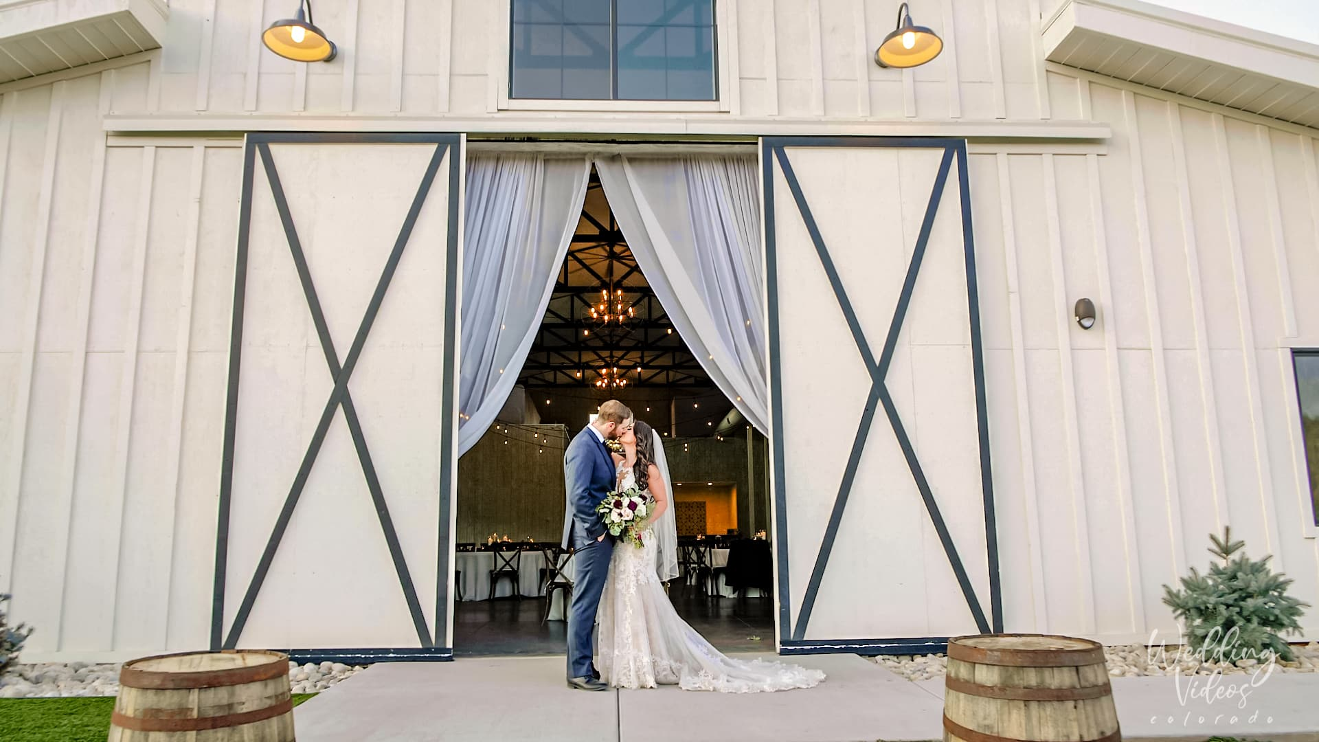 Taylor Courtney The Woodlands Morrison CO Wedding Video