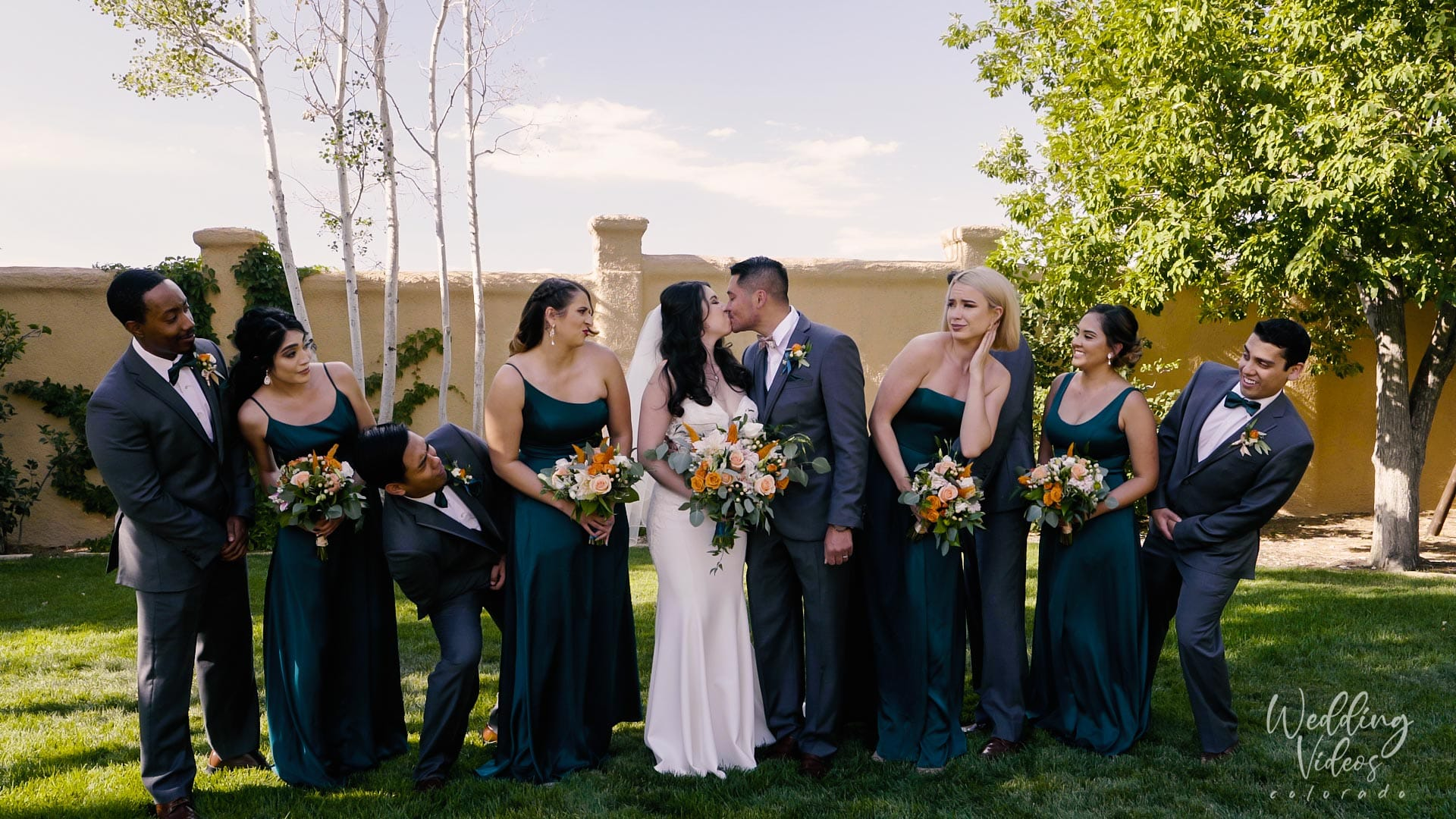 Vivian Donnie Villa Parker Wedding Parker Colorado Wedding Venue