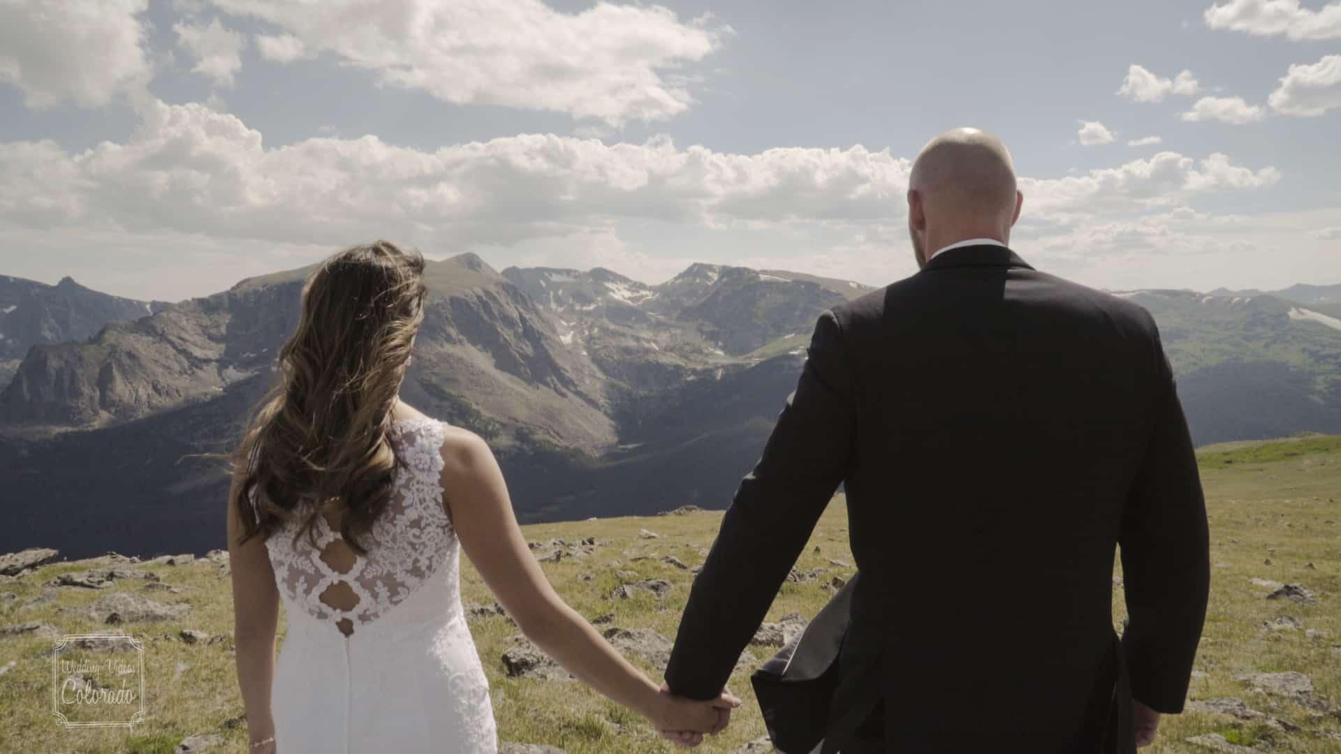 estes park destination wedding video