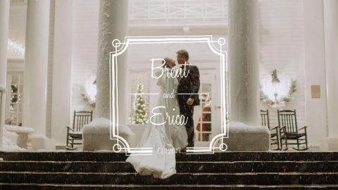 brent erica the manor house wedding video
