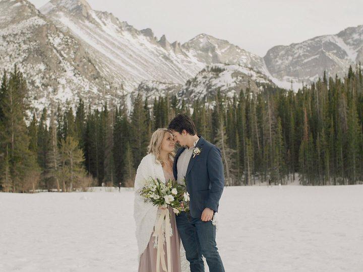 Joshua & Amber Elopement @ Rocky Mountain National Park