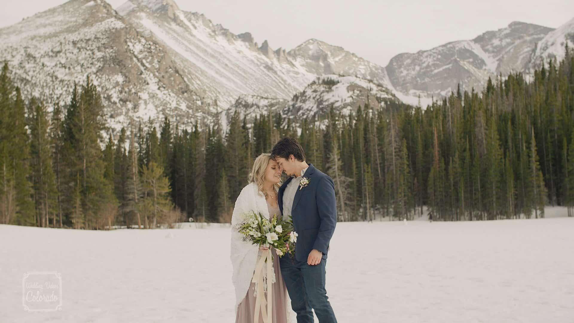bear lake elopement elope wedding