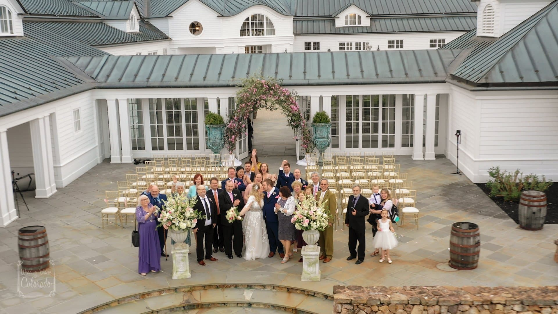 Trump Vineyards at Albermarle Estate Wedding