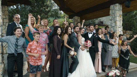 Carter & Lynnsey Cielo Castle Pines Wedding Videographer
