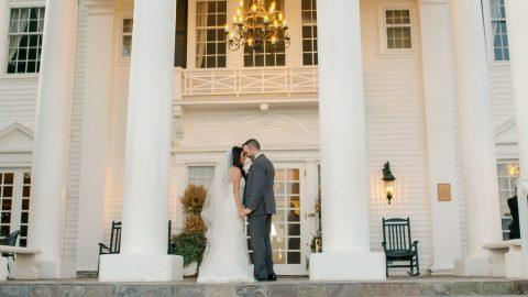 Marissa Daniel The Manor House Wedding Video Still