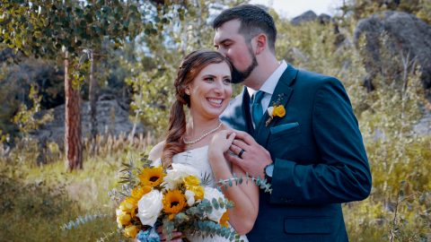 Rachel David Stove Praire Ranch bellvue Wedding