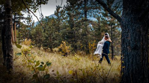 Chris Brianne Wedding Della Terra mountain chateau Estes Park