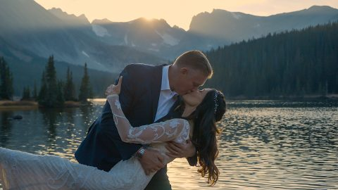 John Jil Elopement Long Lake Elopement