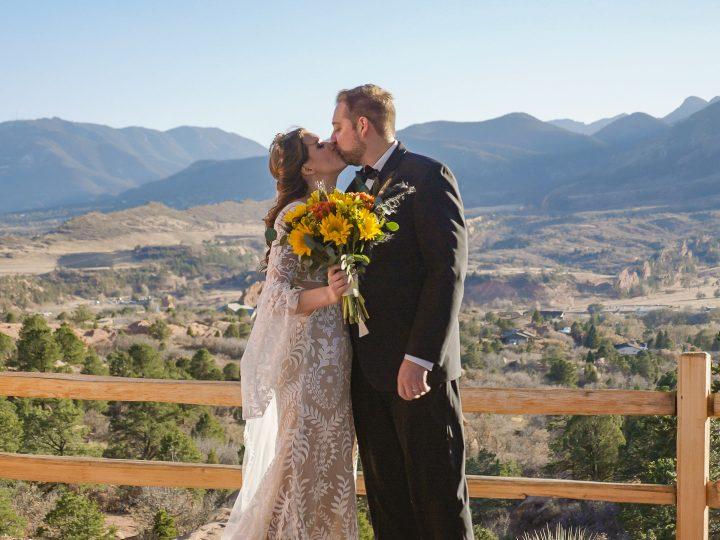 Ben & Michon Elopement at Garden of the Gods, Colorado Springs