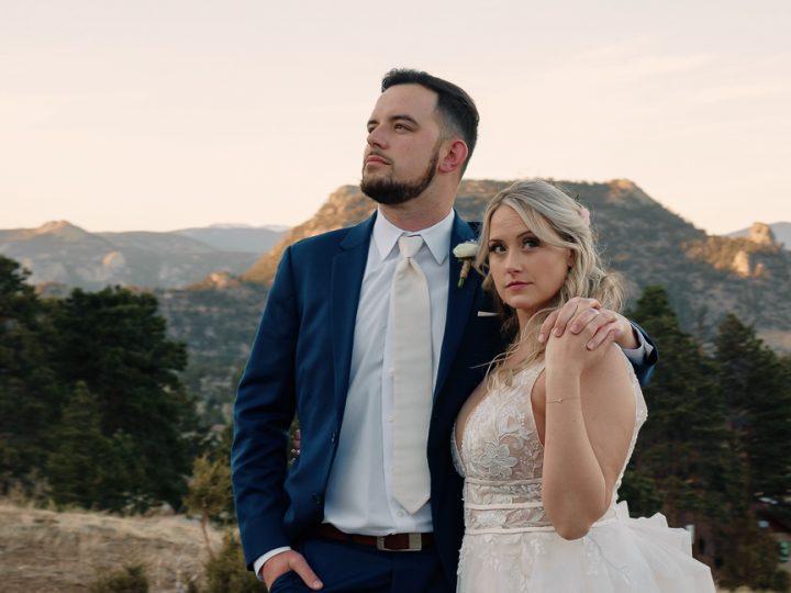 Ben & Ali Wedding Taharaa Lodge Estes Park