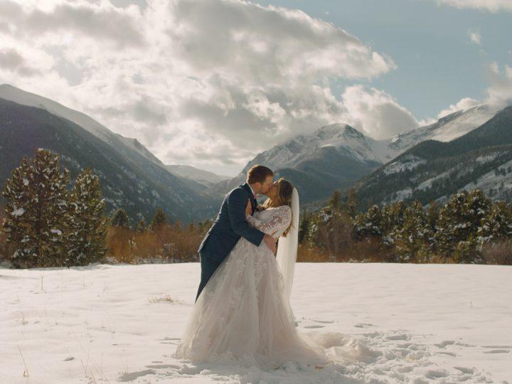 Patrick & Hannah Wedding at Black Canyon Inn, Estes Park, CO